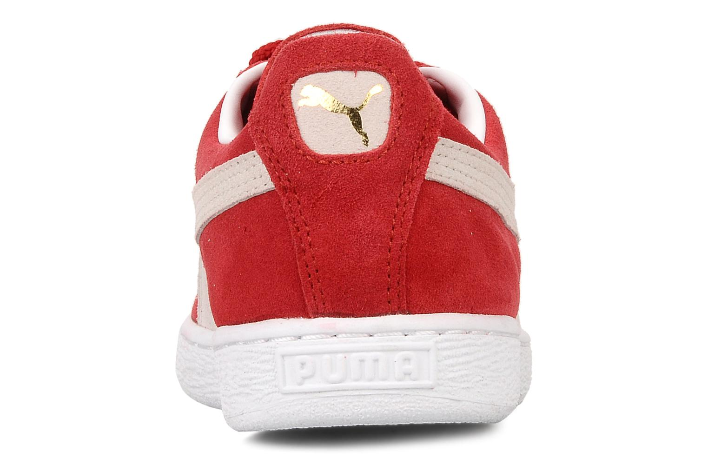 Baskets Puma Suede Classic + Rouge vue droite