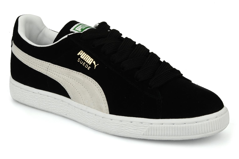 Suede Classic + Black-White