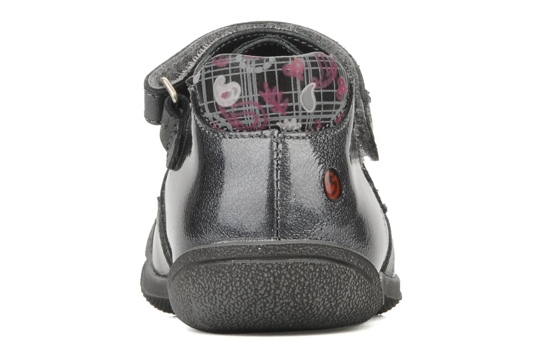 Chaussures à scratch GBB Kidgirl 201 Gris vue droite