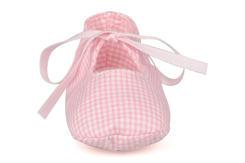Hausschuhe Rose & Martin Delicat rosa schuhe getragen