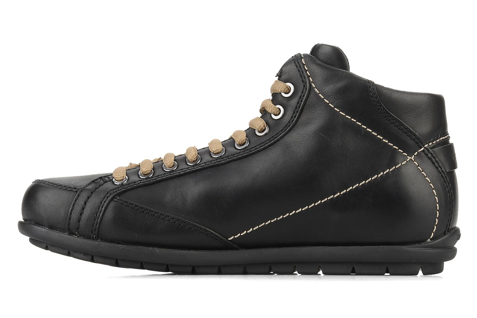 Ankle boots Stonefly Bomber 1 Black front view