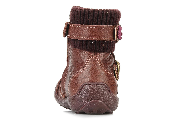 Bottines et boots Primigi Megha Bordeaux vue droite