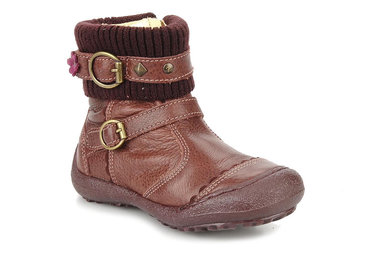 Bottines et boots Primigi Megha Bordeaux vue détail/paire