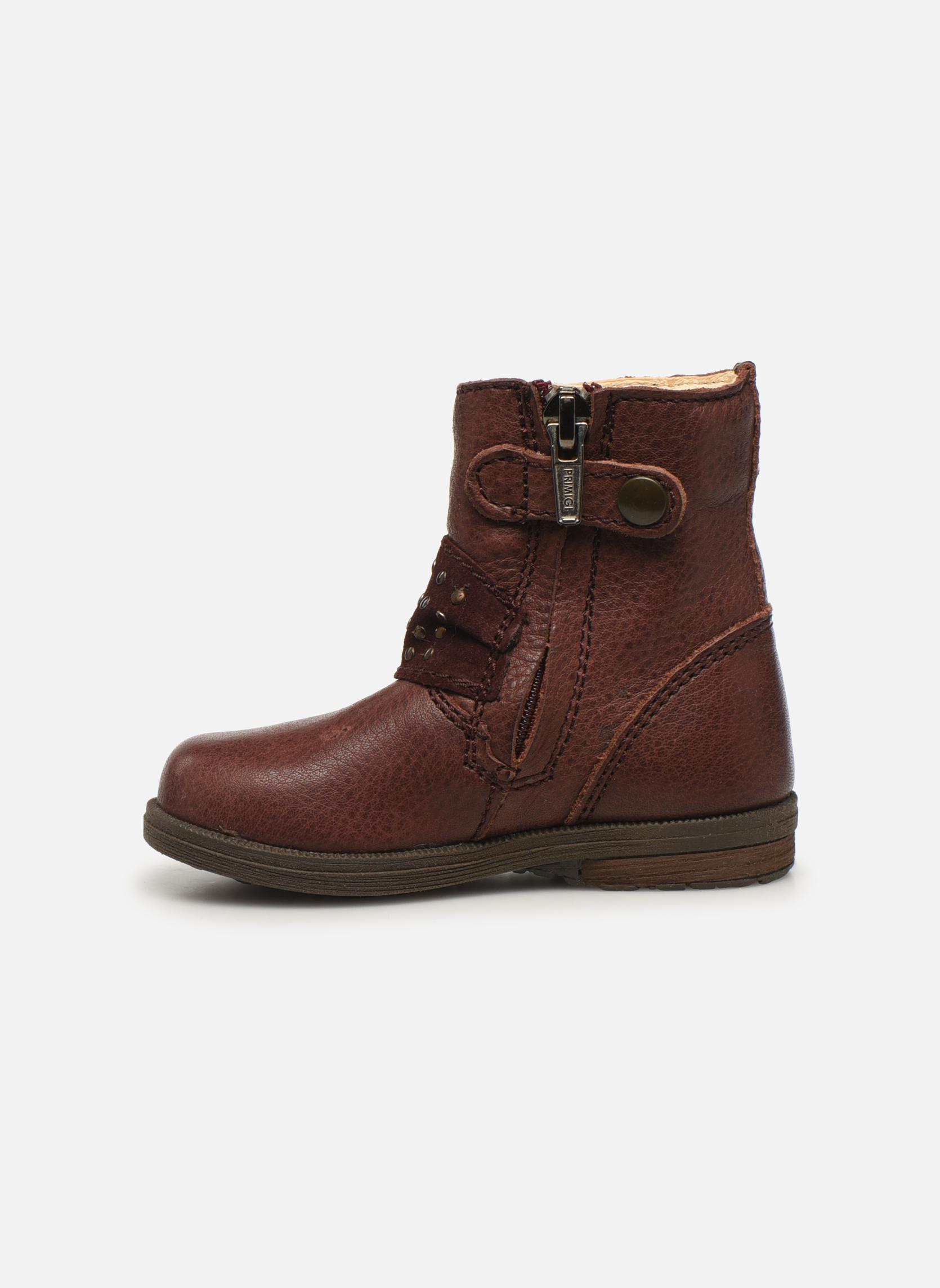 Bottines et boots Primigi Corinna Bordeaux vue face