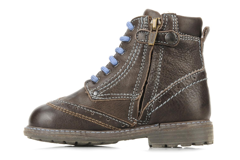 Ankle boots Primigi Lanfranco Brown front view