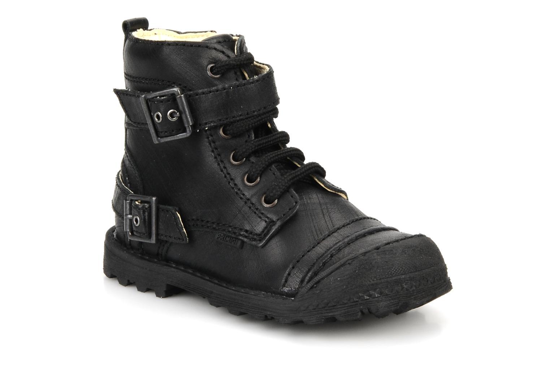 Ankelstøvler Primigi Stant Sort detaljeret billede af skoene