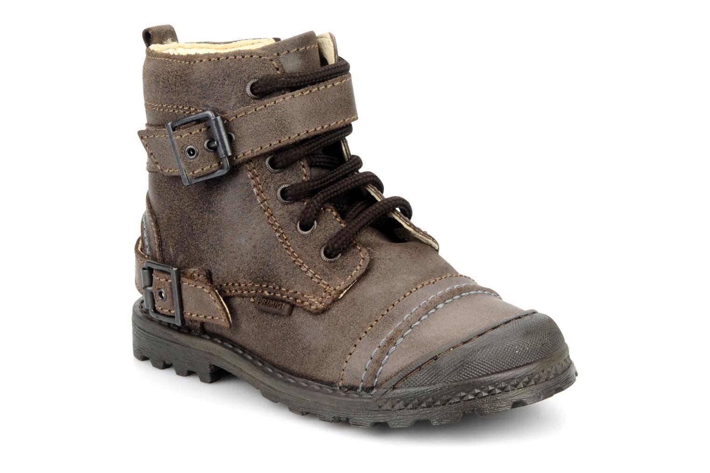 Ankelstøvler Primigi Stant Brun detaljeret billede af skoene