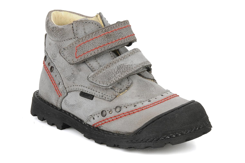 Velcro shoes Primigi Ashton Grey detailed view/ Pair view