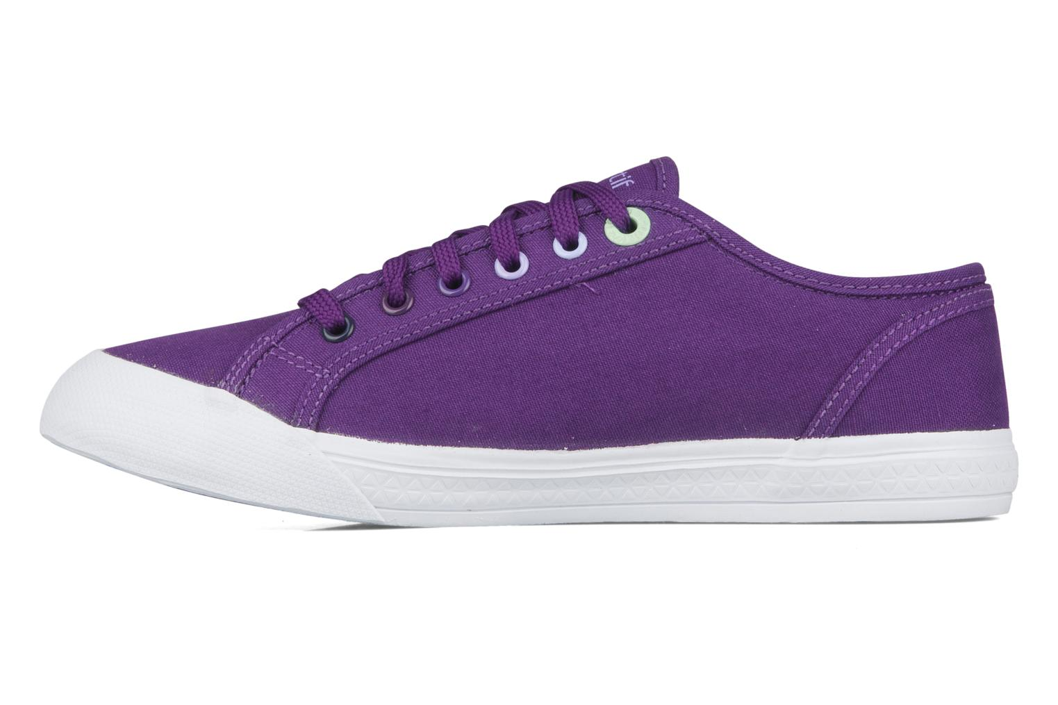Sneakers Le Coq Sportif Deauville plus shaded Viola immagine frontale