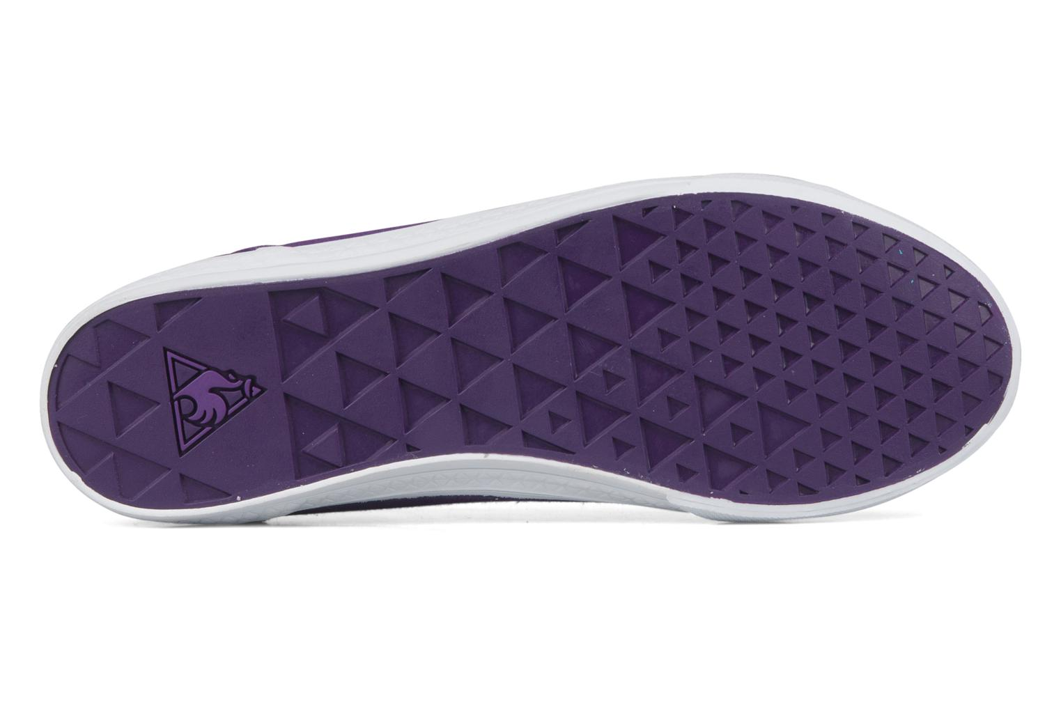 Sneakers Le Coq Sportif Deauville plus shaded Viola immagine dall'alto