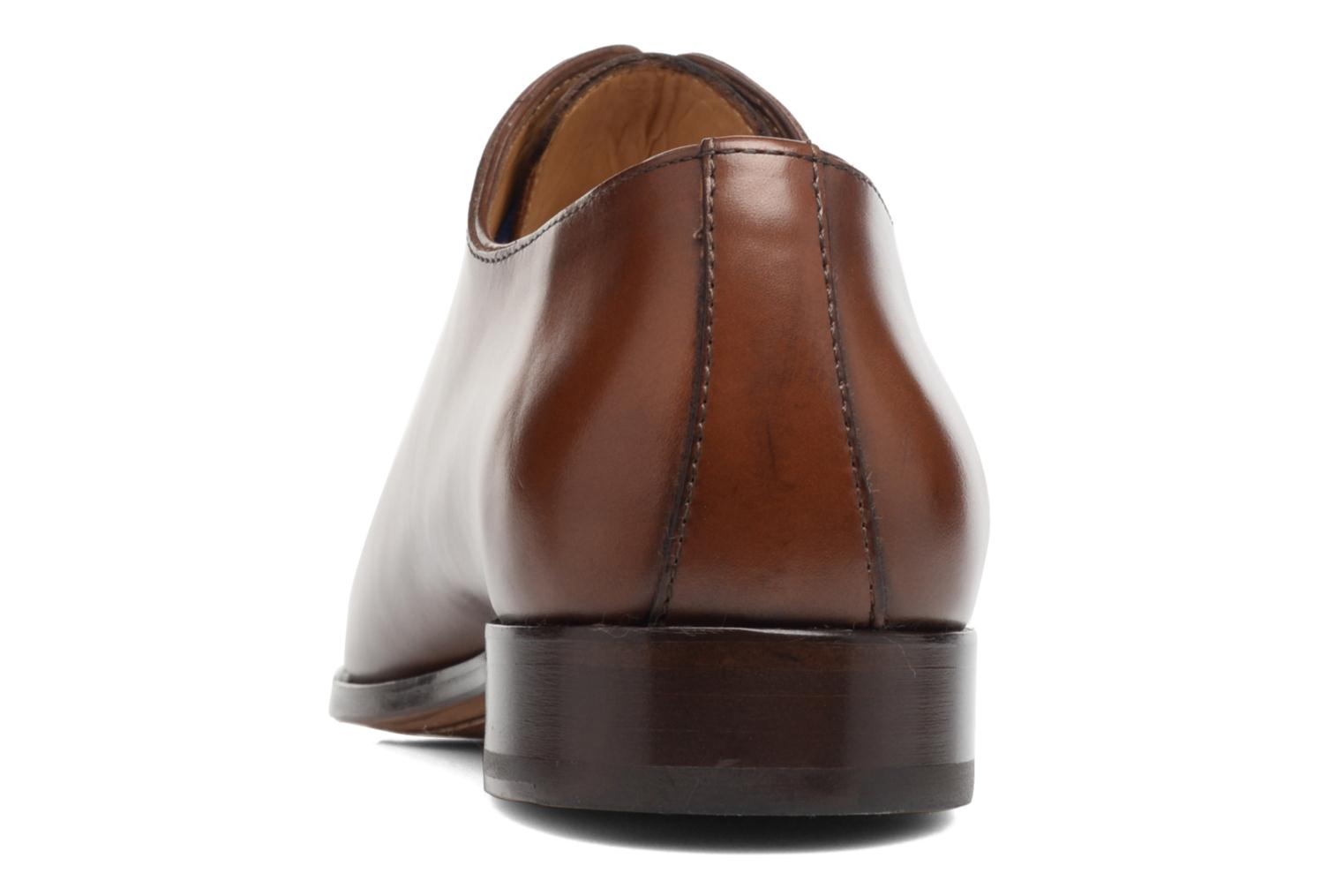 Lace-up shoes Brett & Sons Côme Brown view from the right