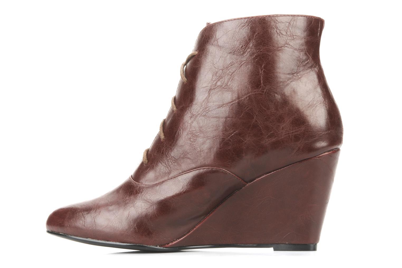Bottines et boots Georgia Rose Nara Bordeaux vue face