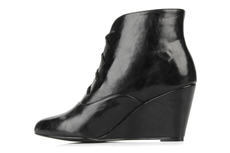Bottines et boots Georgia Rose Nara Noir vue face