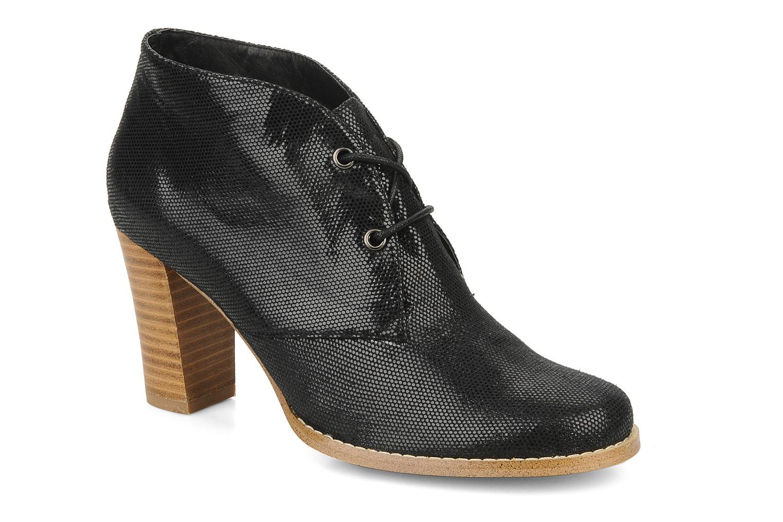 Zapatos con cordones Georgia Rose Itsaso Negro vista de detalle / par