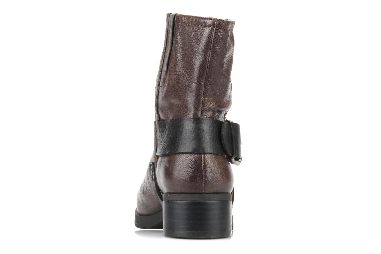 Bottines et boots Nine West Watery Marron vue droite