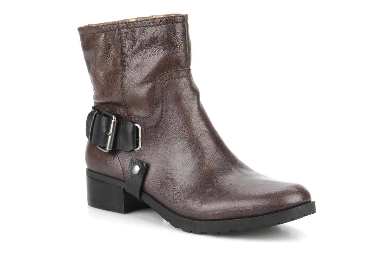 Bottines et boots Nine West Watery Marron vue détail/paire