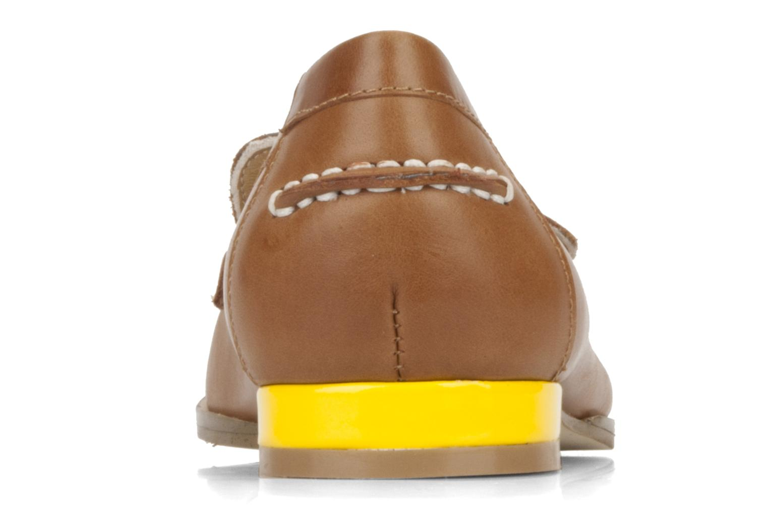 Loafers Mellow Yellow Kolage Brown view from the right