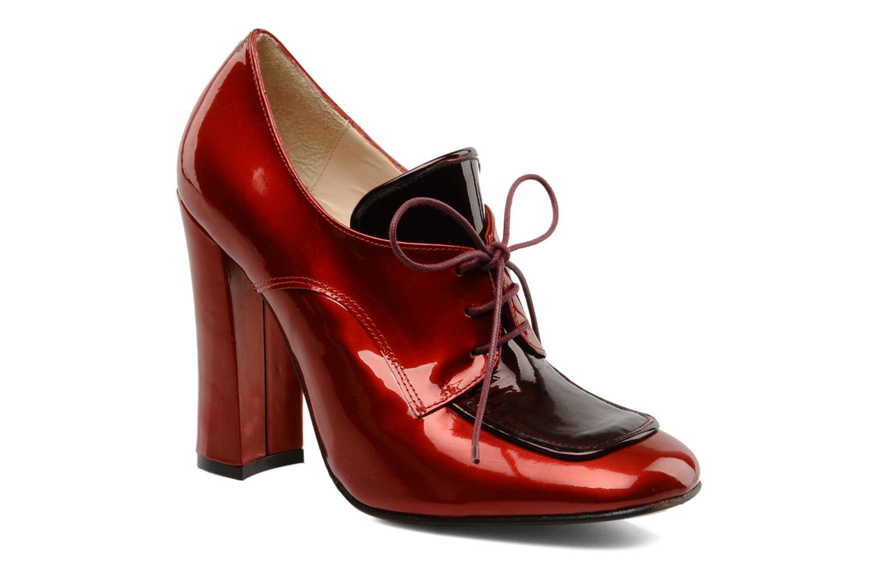 Chaussures à lacets Mellow Yellow Klipo Rouge vue détail/paire
