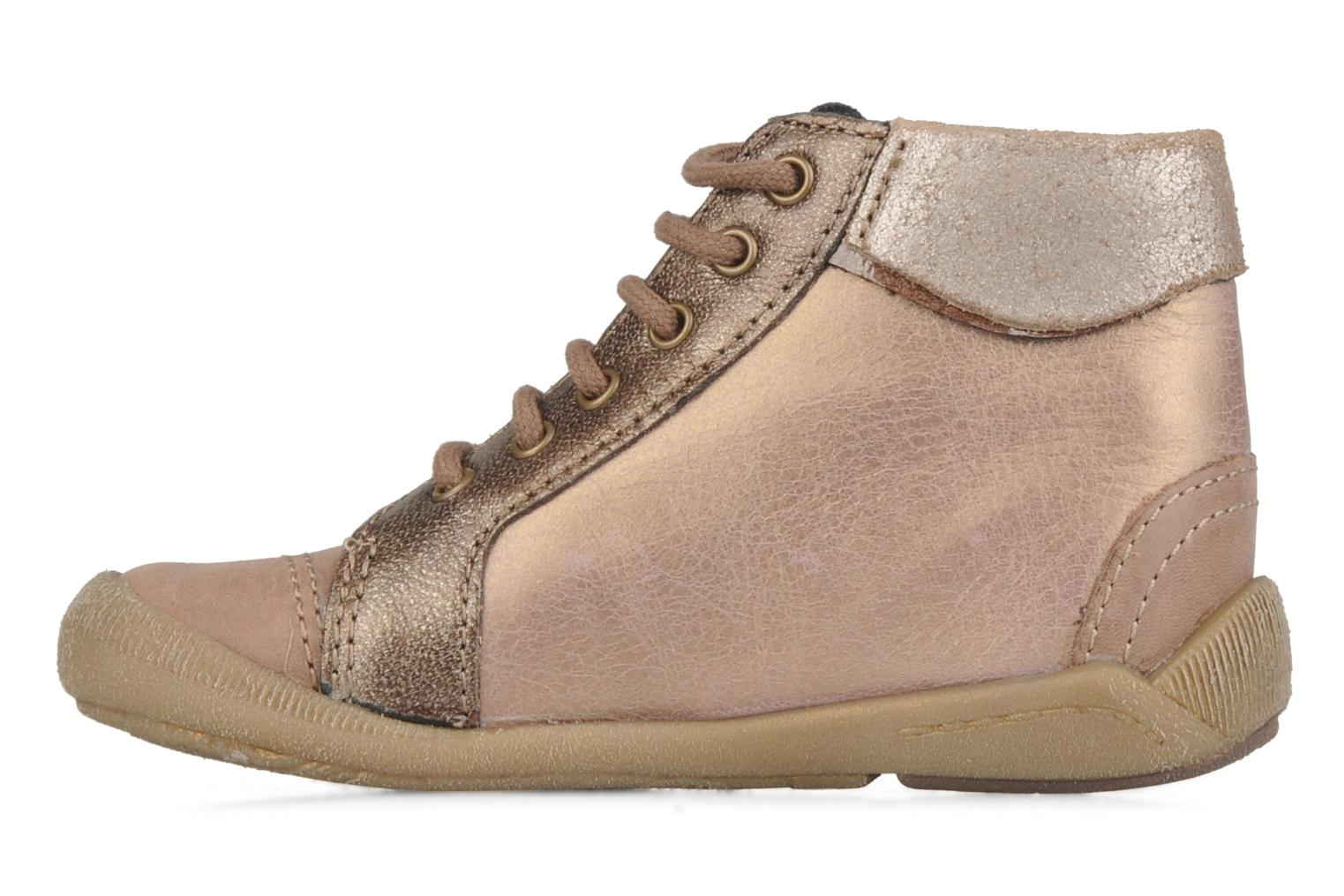 Ankle boots Babybotte Alya Pink front view