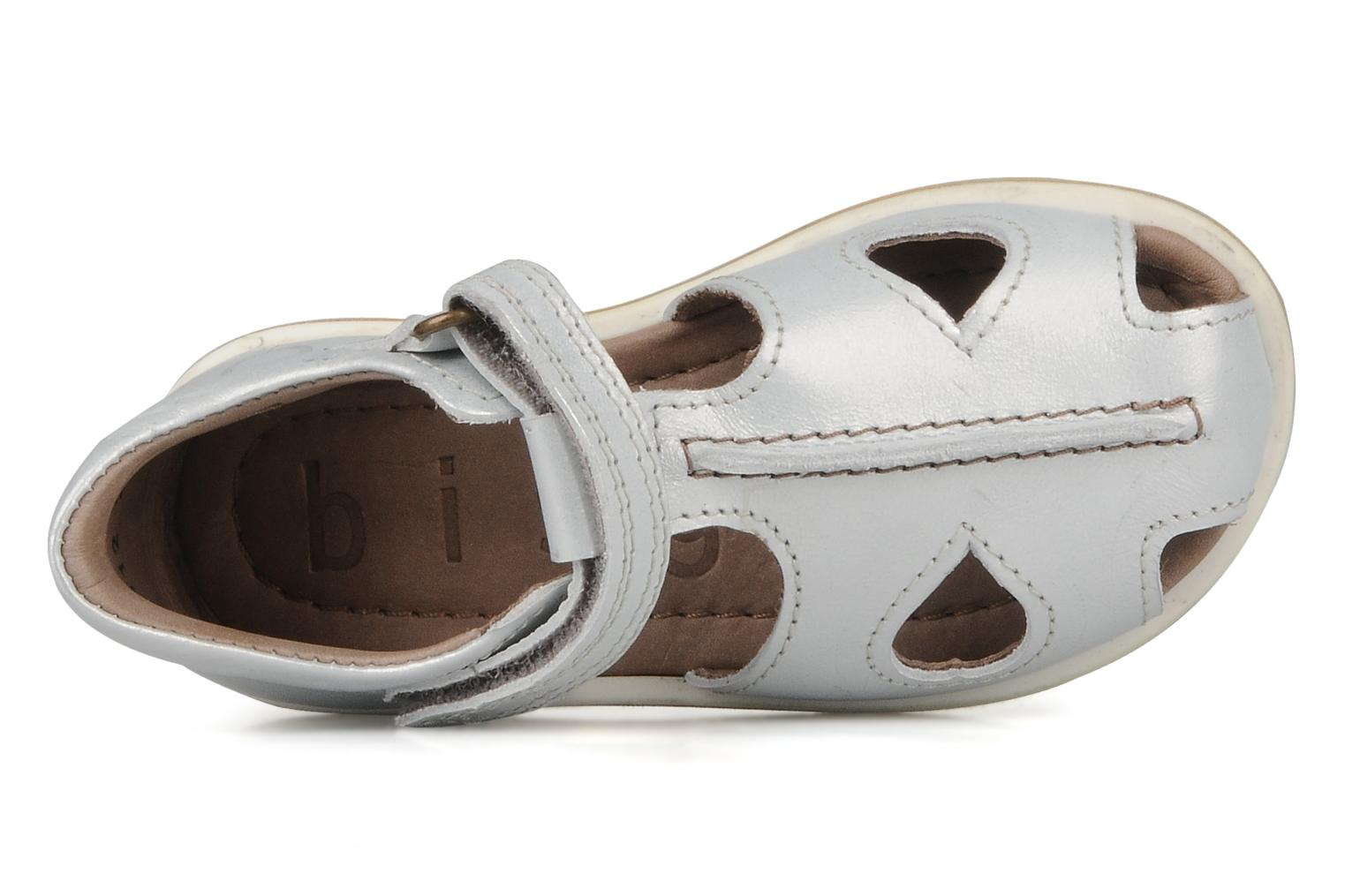 Sandals Bisgaard Girembelle Silver view from the left