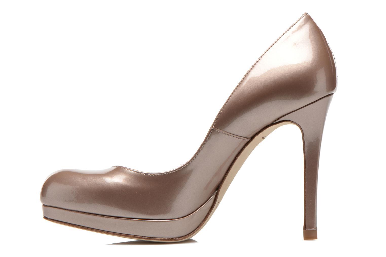 High heels L.K. Bennett Sledge Bronze and Gold front view