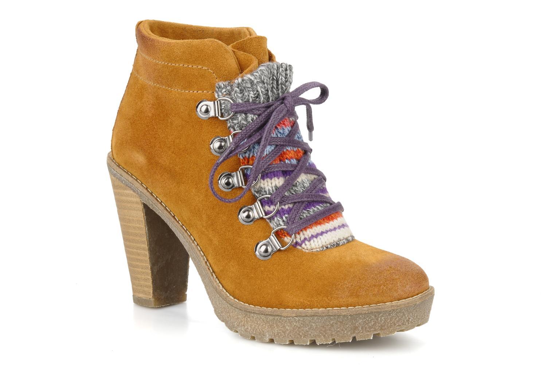 Bottines et boots Mikaela Elfort Marron vue détail/paire