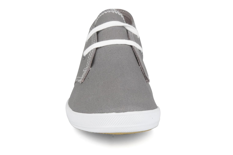Sneaker Keds Champion chukka canvas grau schuhe getragen