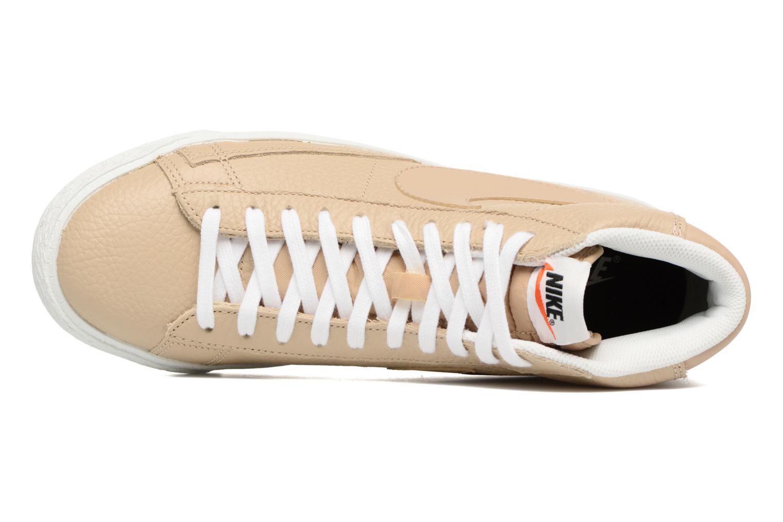 Baskets Nike Blazer mid prm Beige vue gauche