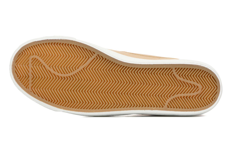 Sneaker Nike Blazer mid prm beige ansicht von oben
