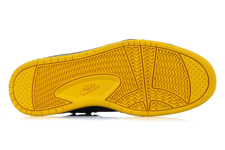 Sneaker Nike Flytop velcro schwarz ansicht von oben