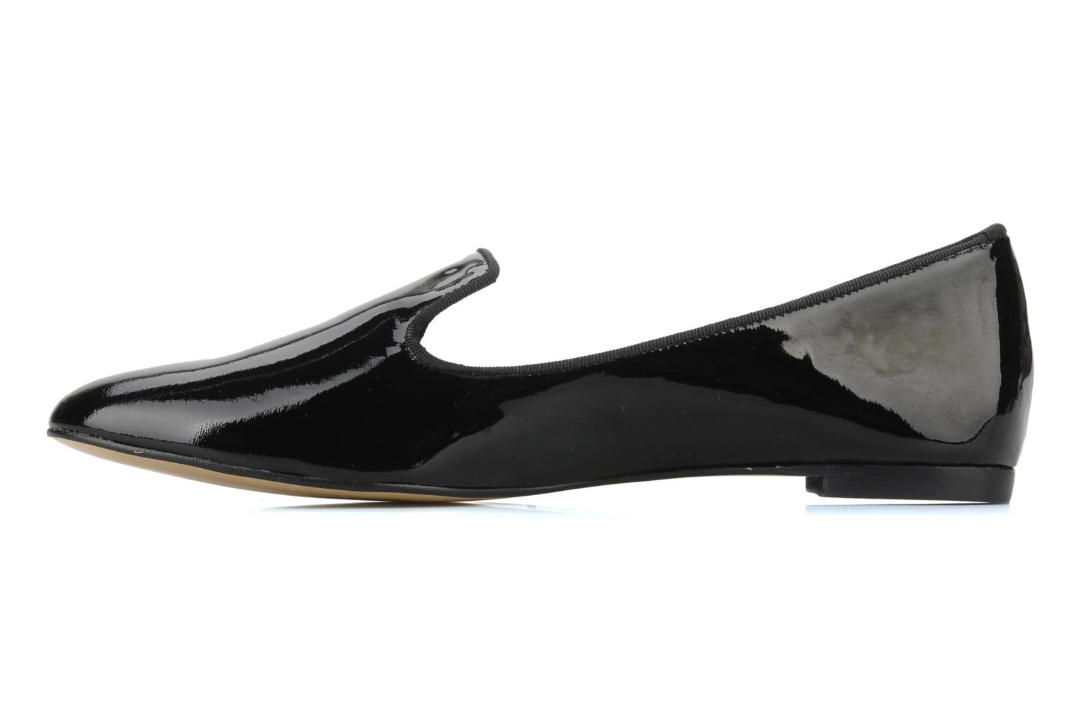 Loafers Georgia Rose Theadia Black front view
