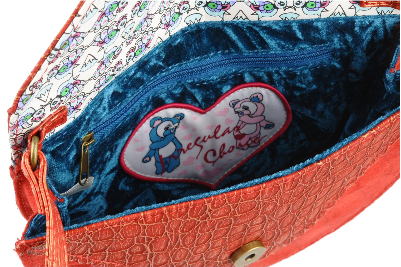 Handbags Irregular choice Miaow cross body Red back view