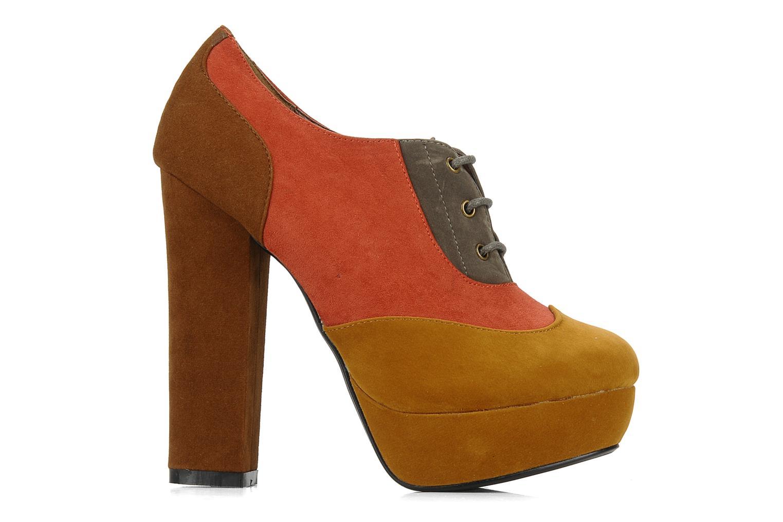 Scarpe con lacci I Love Shoes Jeri Multicolore immagine posteriore