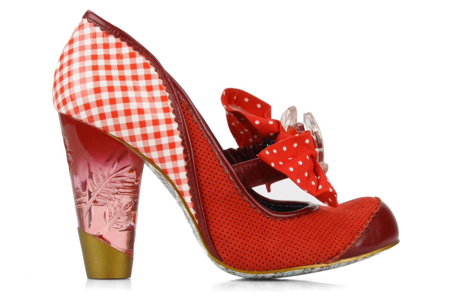 Décolleté Irregular choice I'm from bury Rosso immagine posteriore