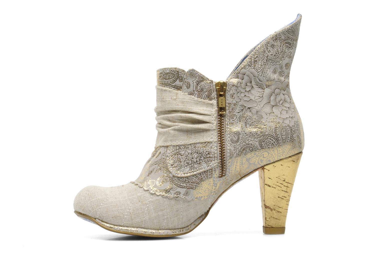 Boots en enkellaarsjes Irregular Choice Miaow Beige voorkant