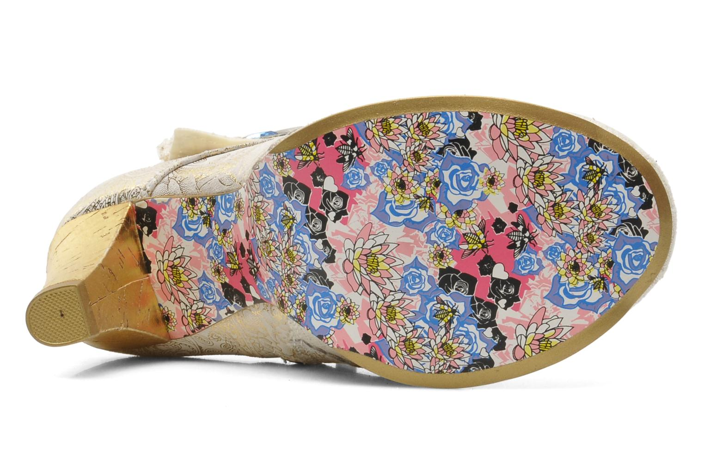 Boots en enkellaarsjes Irregular Choice Miaow Beige boven