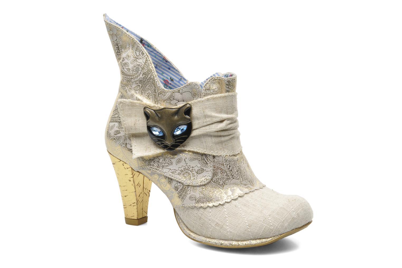 Boots en enkellaarsjes Irregular Choice Miaow Beige detail
