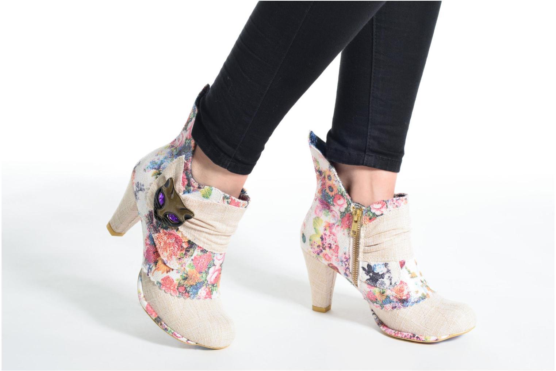 Bottines et boots Irregular Choice Miaow Vert vue bas / vue portée sac