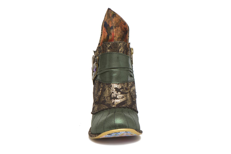 Bottines et boots Irregular Choice Miaow Vert vue portées chaussures