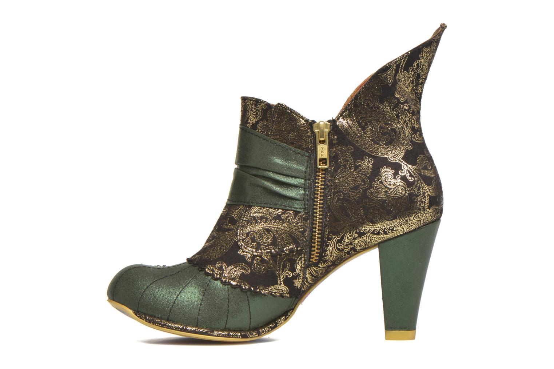 Bottines et boots Irregular Choice Miaow Vert vue face