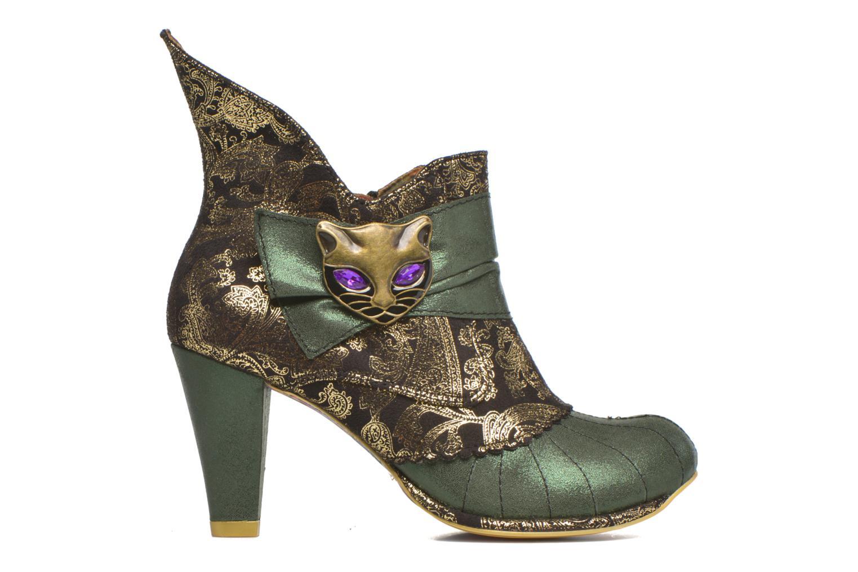 Boots en enkellaarsjes Irregular Choice Miaow Groen achterkant