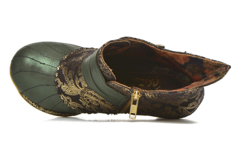 Bottines et boots Irregular Choice Miaow Vert vue gauche
