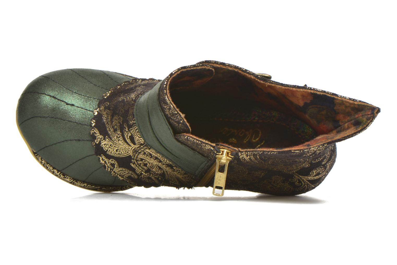 Boots en enkellaarsjes Irregular Choice Miaow Groen links