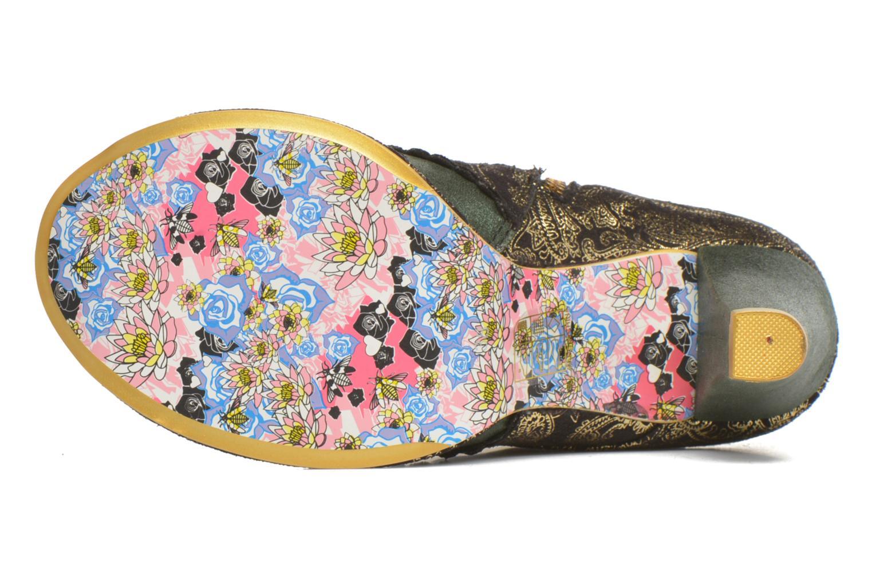 Bottines et boots Irregular Choice Miaow Vert vue haut