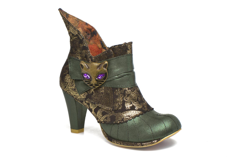 Bottines et boots Irregular Choice Miaow Vert vue détail/paire
