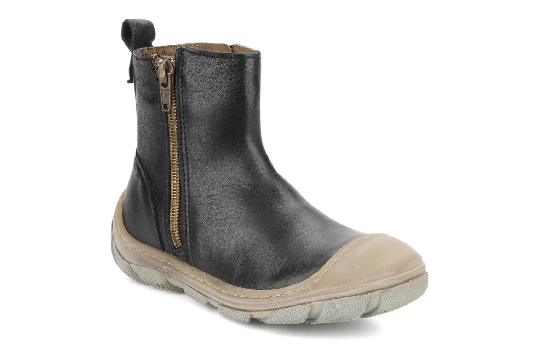 Ankle boots Bisgaard Lavande Black detailed view/ Pair view