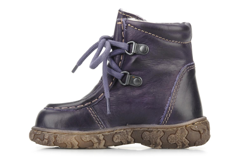 Bottines et boots Bisgaard Loona Violet vue face