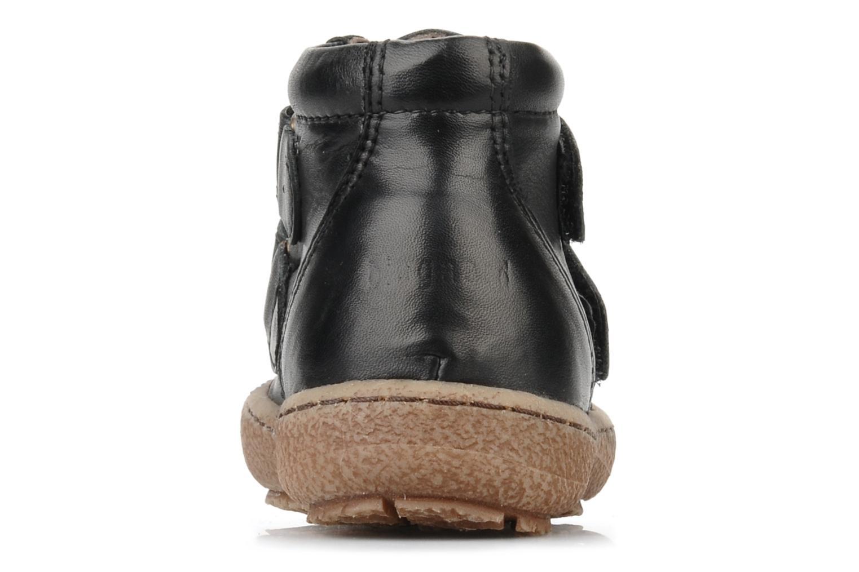 Chaussures à scratch Bisgaard Gapaos Noir vue droite