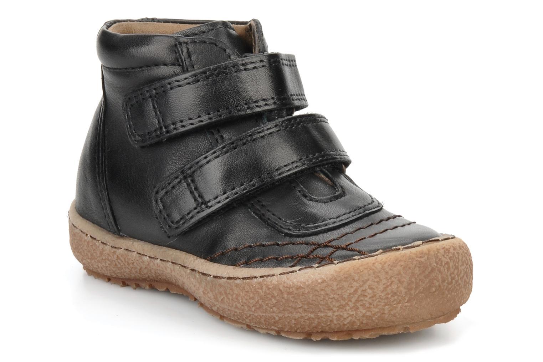 Chaussures à scratch Bisgaard Gapaos Noir vue détail/paire