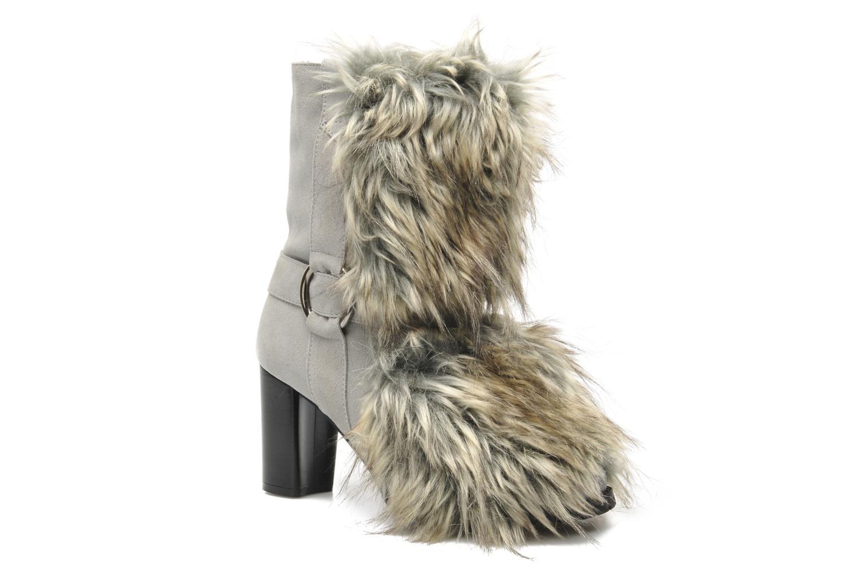 Bottines et boots Eden Zon Gris vue détail/paire